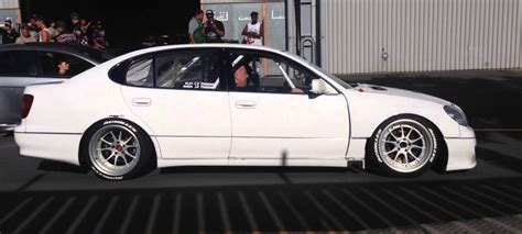 awesome lexus gs300 quadrotor swapped lexus gs300 driftmachine turbo and stance