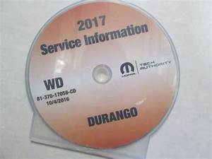 2017 Dodge Durango Shop Service Repair Manual Cd