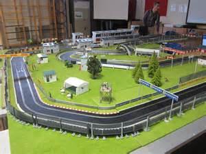 Building Slot Car Track Scenery