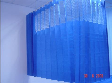 china hospital disposable curtain with holes 12 china