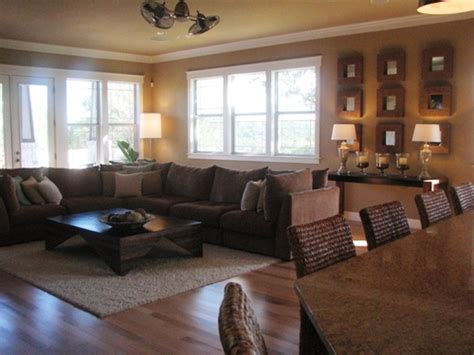 this living room paint color is called whole wheat