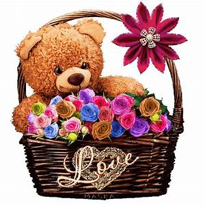 Basketful Of Teddy Bear Love Pictures, Photos, and Images ...