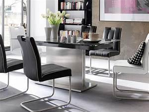 Designer Glastische Esszimmer : glastisch schwarz ausziehbar neuesten design kollektionen f r die familien ~ Sanjose-hotels-ca.com Haus und Dekorationen