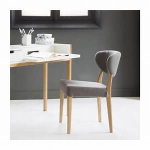 Chaise Tissu Salle A Manger : butterfly chaise de salle manger en tissu habitat ~ Teatrodelosmanantiales.com Idées de Décoration