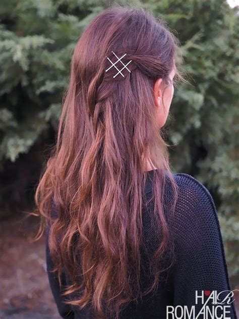 10 Fun and Cute Hairstyles with Bobby pins Bling Sparkle