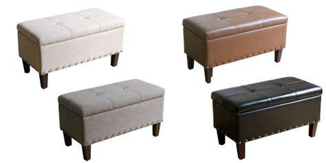 sonoma goods for life madison storage bench ottoman kohl s storage bench ottoman only 66 reg 149 99