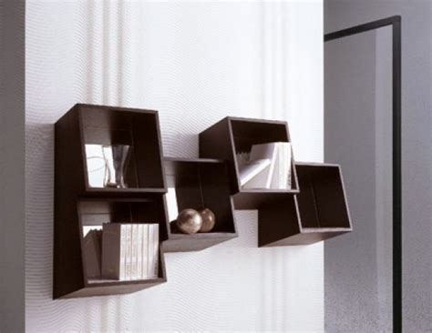 wall mounted bookshelves feel  home
