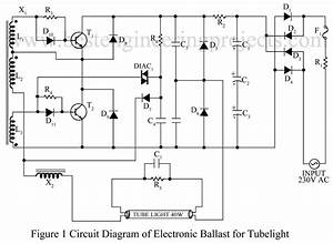 Diagram Of Electronics Balast 13005