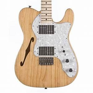 Fender Classic  U0026 39 72 Thinline Telecaster  Natural