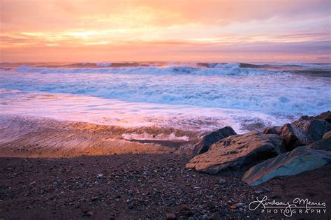 Hokitika Beach Sunset Photo New Zealand Photography