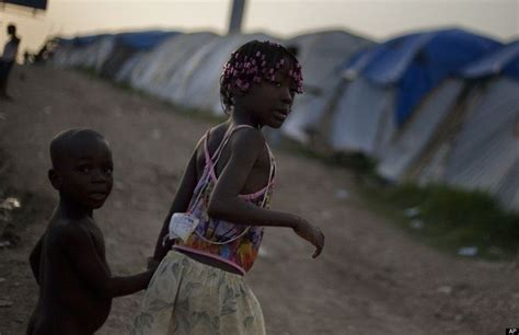 Hundreds of thousands of survivors were displaced. In Post-Earthquake Haiti, Trafficking Of Children Grows | HuffPost