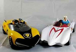 Racer X Shake And Speed Racer Car With Weapons ...rare ...