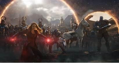 Endgame Avengers Battle Final Stills Witch Scarlet