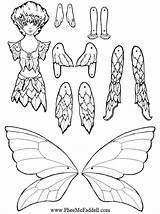 Puppet Coloring Paper Puppets Dolls Crafts Fairy Printable Craft Fairies Cut Pheemcfaddell Nights Five Sheets Master Template Flicker Doll Colouring sketch template