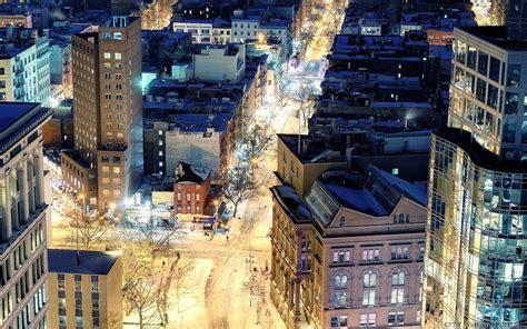 inverno em nova york widescreen wallpapers cidades
