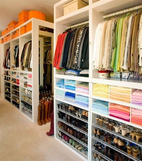 Color Coded Closet by Home Hacks 19 Tips To Organize Your Bedroom Thegoodstuff