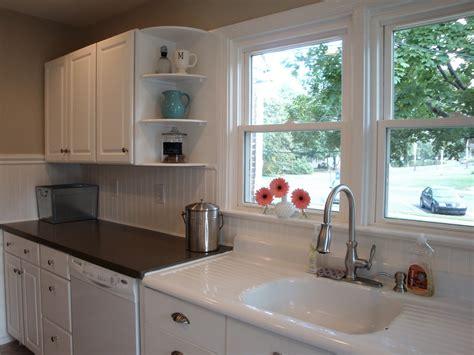 beadboard kitchen backsplash remodelaholic kitchen backsplash tiles now beadboard