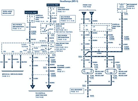 Ford Electrical Wiring Diagram Circuit