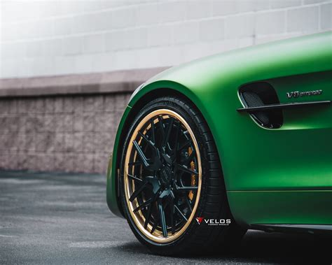 green goblin amg gtr velos vls  forged wheels