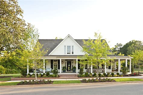 Southern Living House Plans Porches by Farmhouse Revival Print Southern Living House Plans