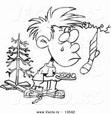 Poor Coloring Poverty Outline Boy Cartoon Christmas Clipart Pages Leishman Wanting Sketch Template Ron sketch template