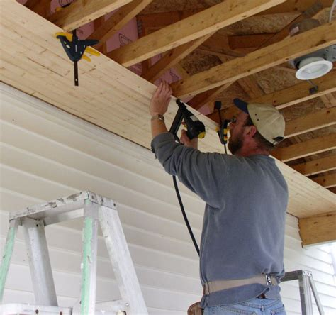 how to install pine boards on walls installing a t g ceiling by yourself stonehaven life