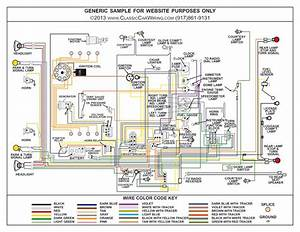1957 1958 1959 1960 Fiat Multipla 600 Color Wiring Diagram