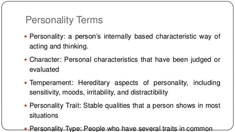 Hans Eysenck Theory Of Personality