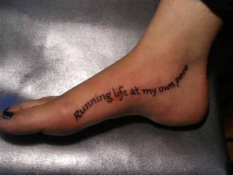 pin  gretta harris  running motivation feet tattoos