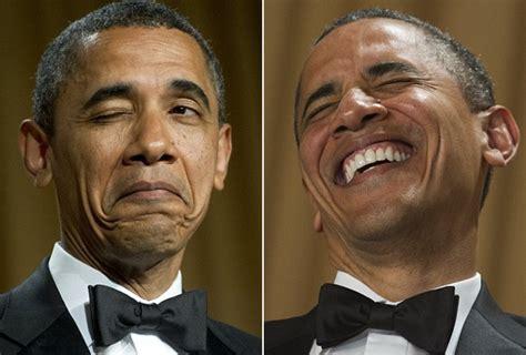 Obama Laughing Meme - barack obama funny face