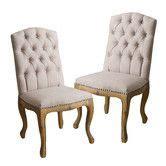 17 best ideas about tufted dining chairs on