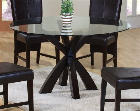 round glass breakfast table set furniture dining room delightful round pedestal dining