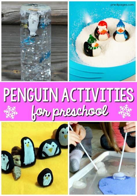 penguin activities for preschoolers pre k pages 248 | Penguin Theme Activities for Preschool