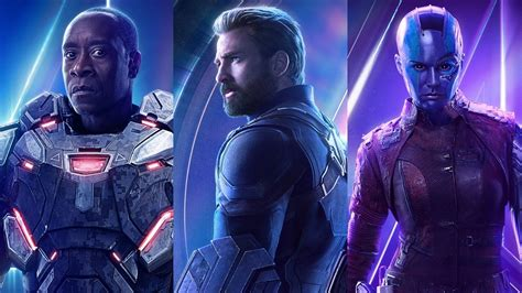 avengers infinity war character posters revealed ign