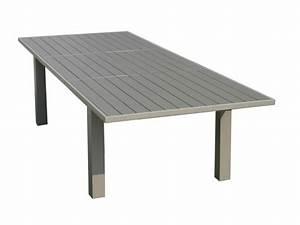 Table De Jardin En Aluminium : table exterieur en aluminium bricolage maison et d coration ~ Teatrodelosmanantiales.com Idées de Décoration