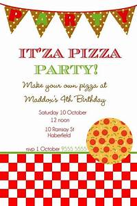 Party Planning Checklist Pdf Free Pizza Party Invitation Template Sampletemplatess