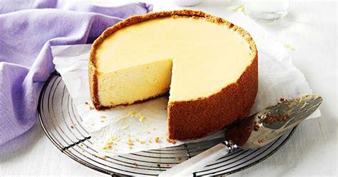perfect baked  york cheesecake
