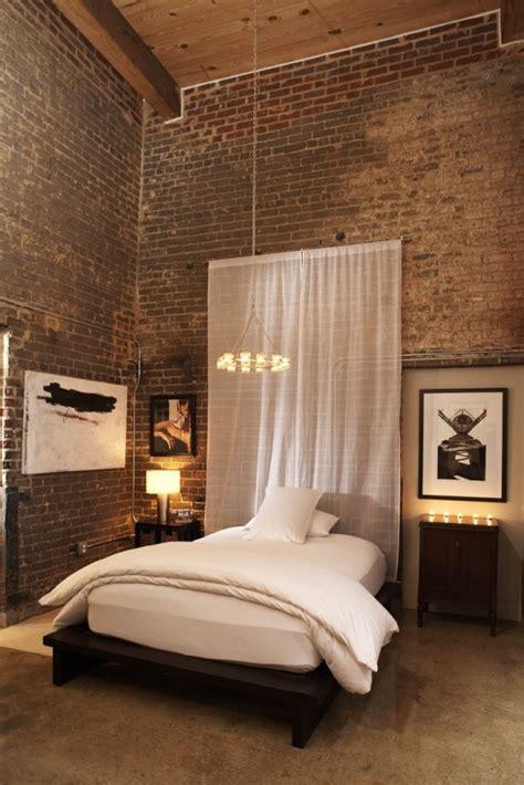 impressive bedrooms  brick walls digsdigs