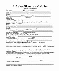 pictures club membership application daily quotes about With social club membership application form template