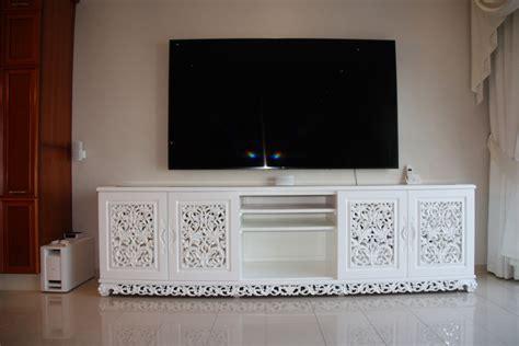 teak kast wit maken teak tv kast in wit