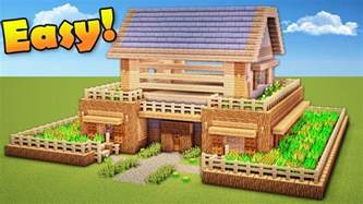 how to build a house minecraft how to build a survival house wooden house tutorial