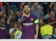 Messi calledup for InterBarcelona despite no medical go