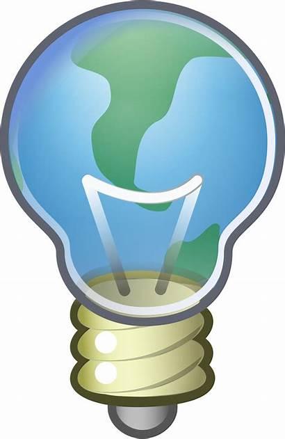 Thinking Clipart Critical Lightbulb Global Transparent Svg