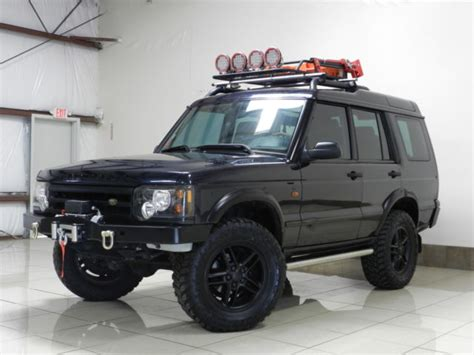 lifted land rover custom land rover discovery 2 lifted winch dual sunroof