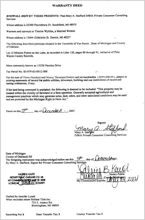 Assignment agreement for real estate