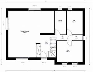 plan maison prix prix moyen pour onstruire une maison 9 With delightful construire sa maison 3d 18 plan maison plain pied 3 chambres maison moderne