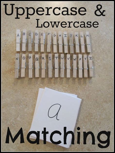 great activity  teaching kids uppercase  lowercase