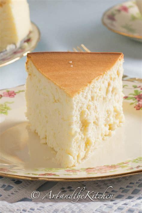 tall  creamy  york cheesecake art   kitchen
