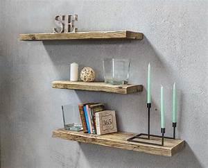 Mensole legno massello di recupero Made in Italy Inventoom