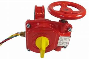 Ansi Ductile Iron Fire Hose Wafer Grooved Butterfly Valve